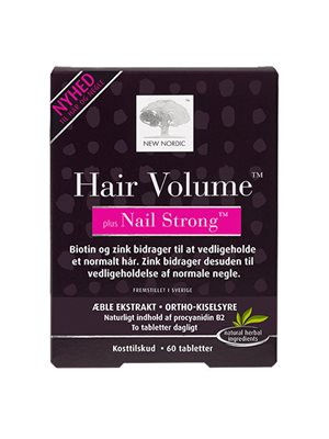 Hair Volume + Nails strong
