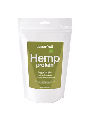 Hamp protein pulver (hemp  powder) Superfruit