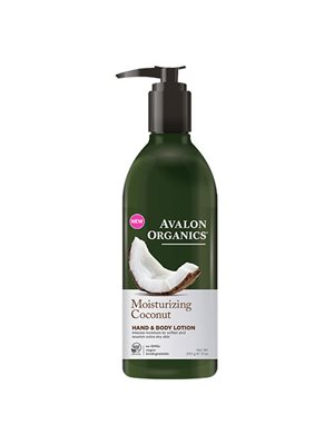 Hand & Body Lotion Coconut  Moisturizing Avalon Organics
