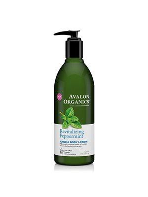 Hand & Bodylotion Peppermint Revitalizing Avalon Organics