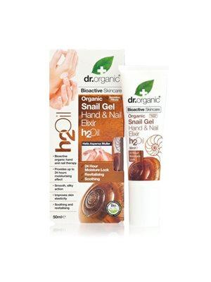 Hand & Nail Elixir Snail Gel   Dr.Organic