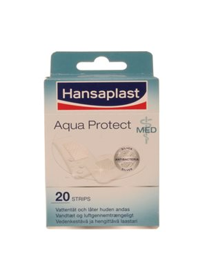 Hansaplast aqua protect strips 20 stk ass.