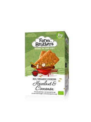 Hazelnut & Cinnamon cookies Ø Farm Brothers