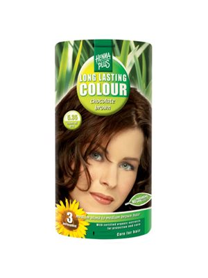 Hennaplus 5.35 hårfarve  chocolate brown Long Lasting Colour