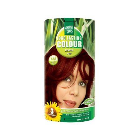 Hennaplus 5.64 hårfarve  henna red Long Lasting Colour