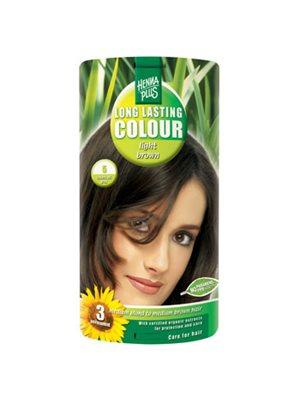Hennaplus 5 hårfarve light  brown Long Lasting Colour