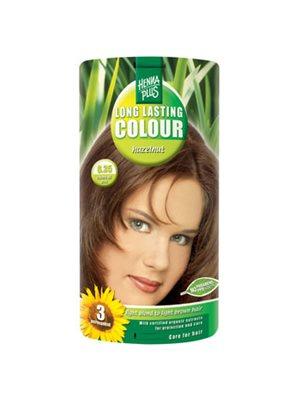 Hennaplus 6.35 hårfarve  hazelnut Long Lasting Colour