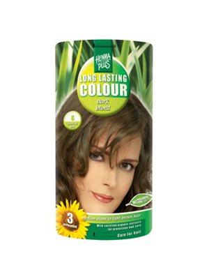 Hennaplus 6 hårfarve dark  blond Long Lasting Colour
