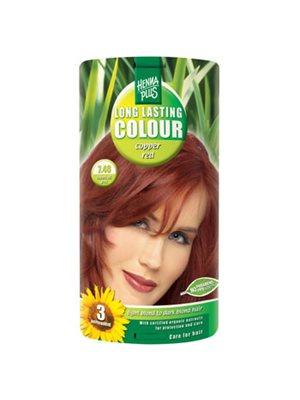 Hennaplus 7.46 hårfarve  copper red Long Lasting Colour