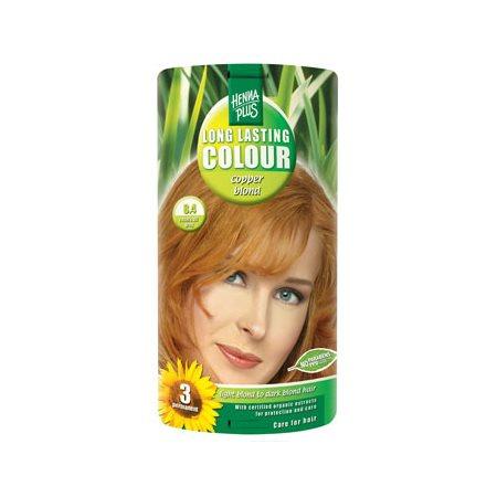 Hennaplus 8.4 hårfarve  copper blond Long Lasting Colour