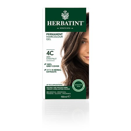 Herbatint 4C hårfarve Ash  Chestnut