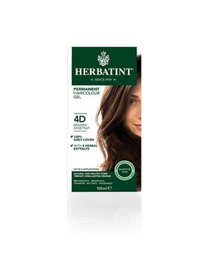 Herbatint 4D hårfarve  Golden Chestnut