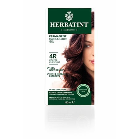 Herbatint 4R hårfarve  Copper Chestnut