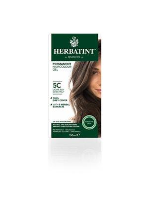 Herbatint 5C hårfarve Light Ash Chestnut