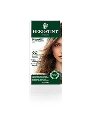 Herbatint 6D hårfarve Dark  Golden Blond