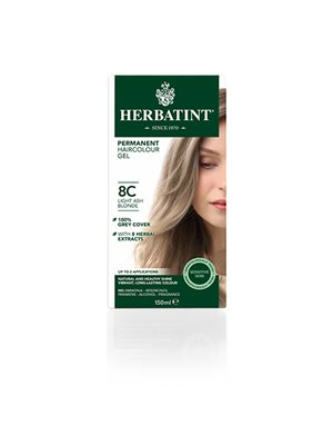 Herbatint 8C hårfarve Light Ash Blonde
