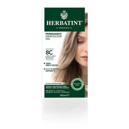 Herbatint 8C hårfarve Light Ash Blonde