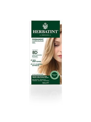 Herbatint 8D hårfarve Light  Golden Blond