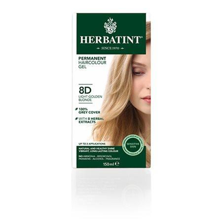 Herbatint 8D hårfarve Light  Golden Blond
