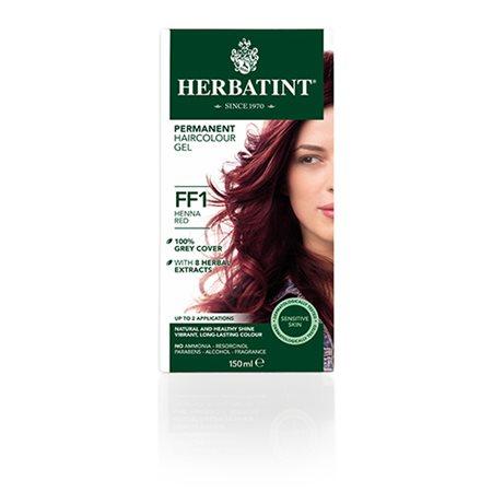 Herbatint FF 1 hårfarve  Henna Red