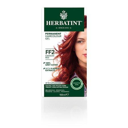 Herbatint FF 2 hårfarve  Crimson Red