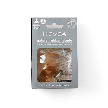 Hevea flaskesutter 2-pak medium flow