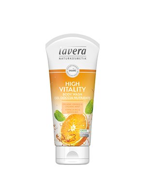 High Vitality Body Wash Orange Lavera Body