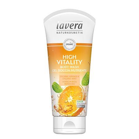 High Vitality Body Wash Orange Lavera Body