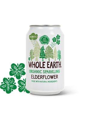 Hyldeblomst sodavand Ø  Whole Earth