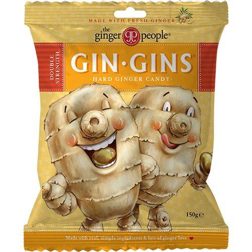 Ginger People Ingefær Bolcher Hard GIN-GIN