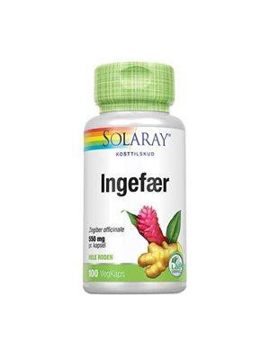 Ingefærrod 550 mg