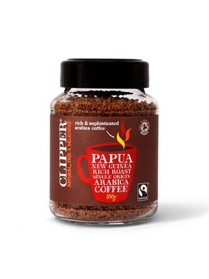 Instant Kaffe Papua New  Guinea Ø Clipper