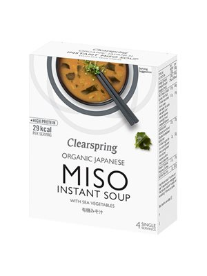 Instant Miso Soup with Sea  Vegetable Ø