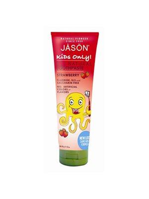 Jasön Tandpasta Jordbærsmag Til børn