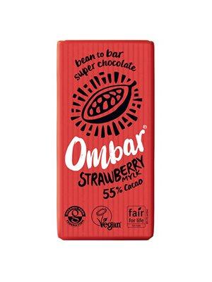 Jordbær og creme Ombar Ø