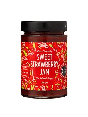 Jordbærmarmelade med Stevia Sweet Jam with Stevia