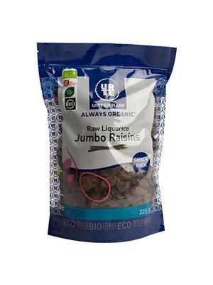 Jumbo rosiner m. lakrids Ø