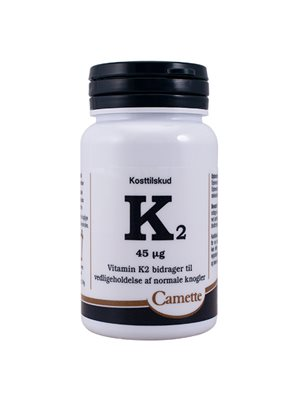 K2 Vitamin 45 mcg.