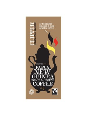 Kaffe Papua New Guinea  malet Ø Clipper