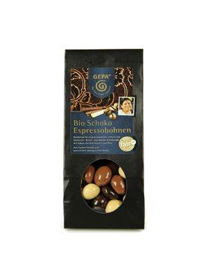 Kaffebønner i chokolade Ø