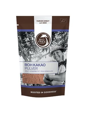 Kakaopulver raw Ø
