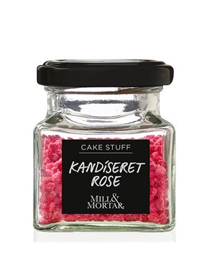 Kandiseret Rose - Mill &  Mortar
