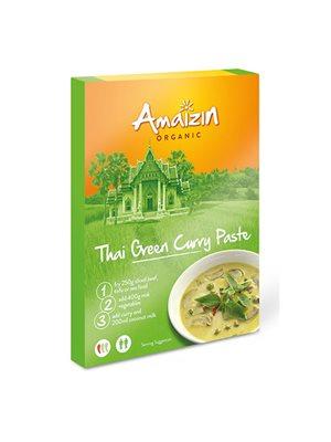 Karry pasta Grøn Thai Ø