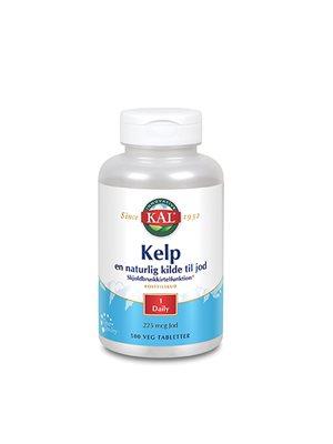 Kelp indeh. 225 mcg jod fra  Kelpplanten