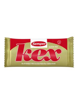 Kex lys chokolade glutenfri Semper