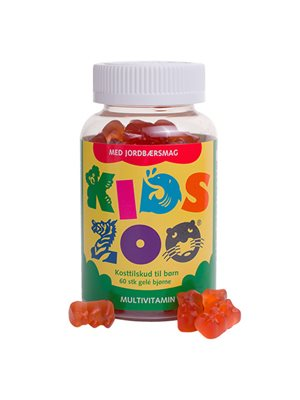 Kids Zoo Multivitamin jordbær