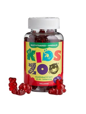 Kids Zoo Multivitamin + Mineraler vegansk