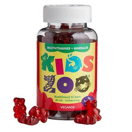 Kids Zoo Multivitamin + Mineraler vegansk