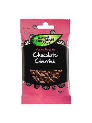 Kirsebær m. rå chokolade Ø Snack Pack