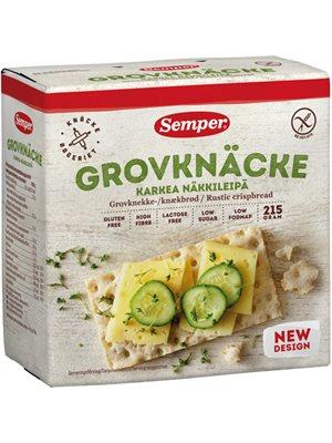 Knækbrød grov glutenfri Semper